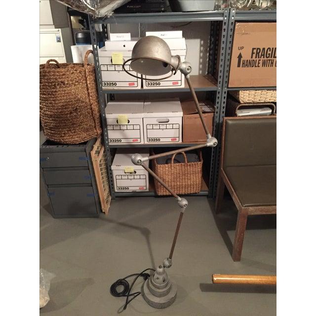 Vintage Jielde Steel Expandable Table/Floor Lamp - Image 3 of 3