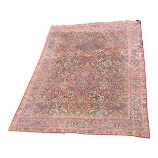 Persian Wool Oriental Rug 9' X 12' For Sale