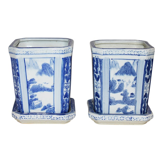 Chinese Planters - A Pair - Image 1 of 5