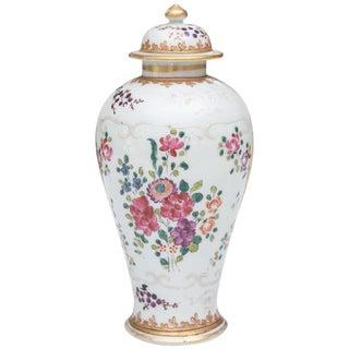 Samson Lidded Porcelain Vase For Sale