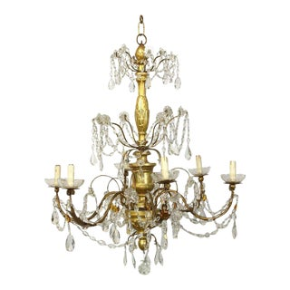 19th Century Italian Chandelier For Sale
