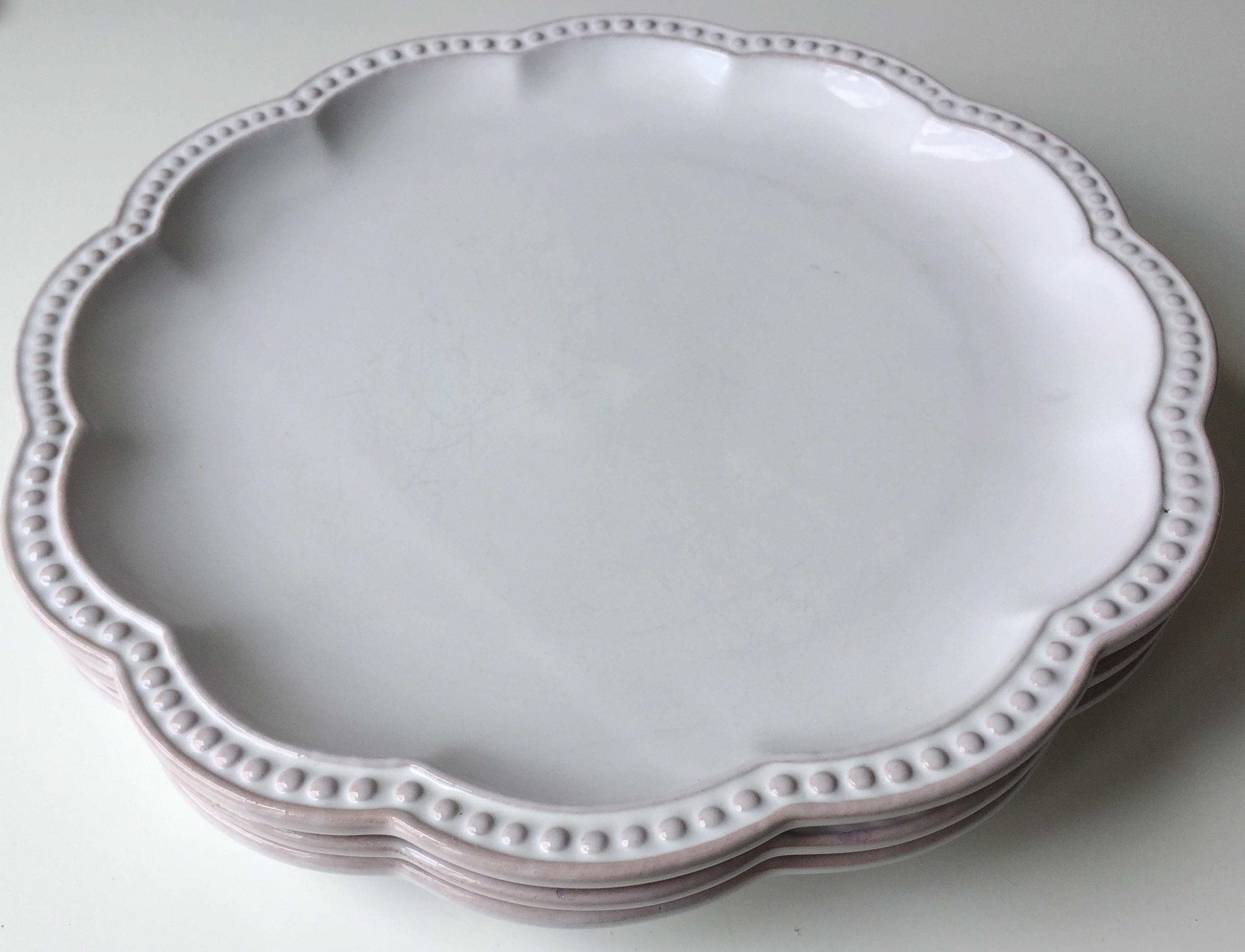 3 Italian Faience Mariposa Belle Provence Dinner Plates Chairish