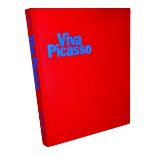 "Vintage 1980 ""Viva Picasso"" Coffee Table Studio Book For Sale"