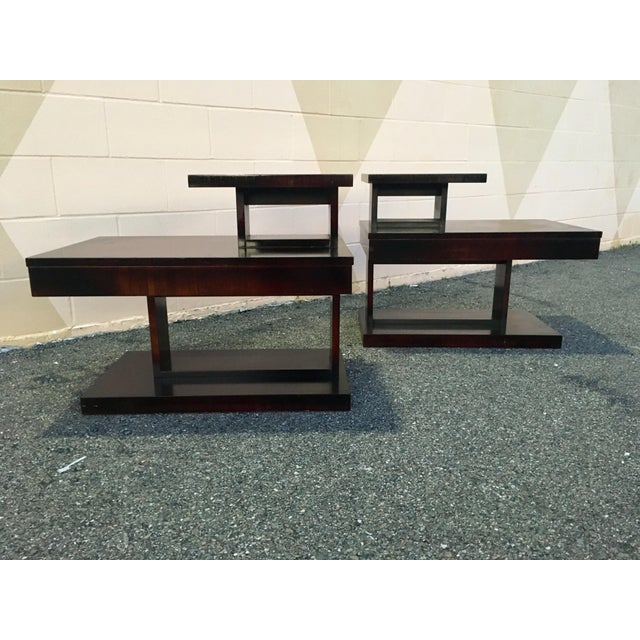 1960s Mid Century Modern Brutalist Lane Side Tables - a Pair For Sale In San Francisco - Image 6 of 12