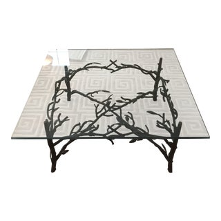 Branch and Leaf Base Cocktail Table