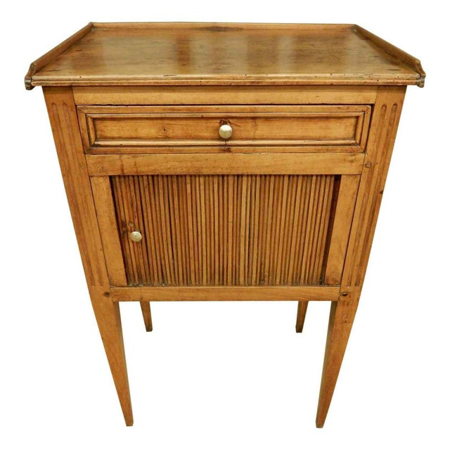 Early 19th C. French Walnut Side Table For Sale - Image 9 of 9
