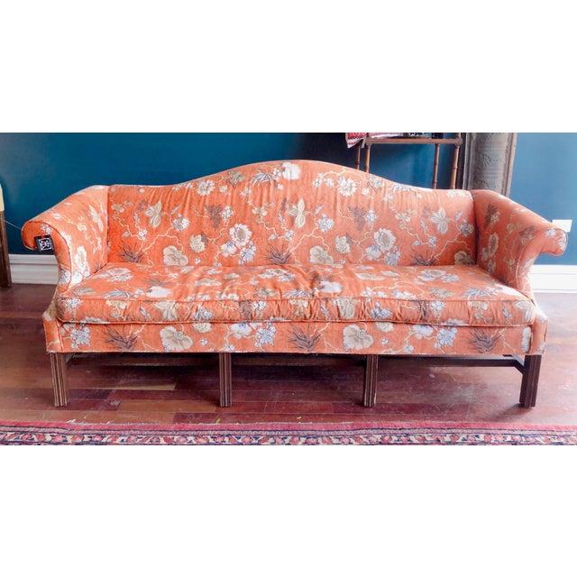 Vintage Baker Camelback Sofa For Sale - Image 12 of 12