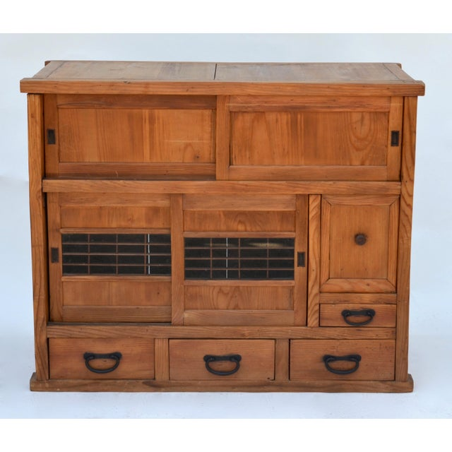 Antique Japanese Choba Tansu For Sale - Image 4 of 6