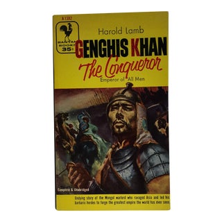 Genghis Khan the Conquerer Harold Lamb 1955 For Sale
