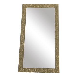 Vintage Textured Wall Mirror For Sale