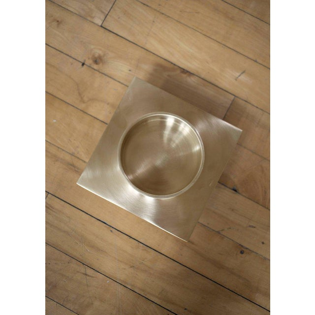 Orphan Work Modern Contemporary 001 Ashtray Dish in Brass by Orphan Work For Sale - Image 4 of 5