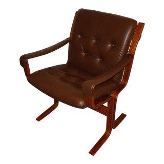 Mid Century Ingmar Relling for Westnofa Siesta Armchair For Sale