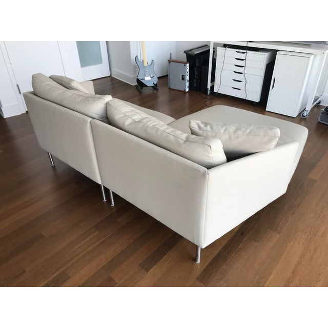 Early 21st Century Modern Design Within Reach Camber Compact Sectional Sofa For Sale - Image 5 of 12