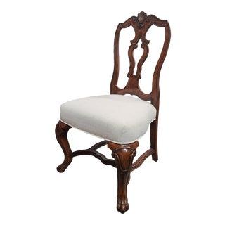 Henredon Furniture Castellina Pecan Torino Dining Side Chair For Sale