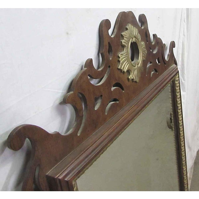 Antique Decorative Wall Mirror For Sale - Image 5 of 8