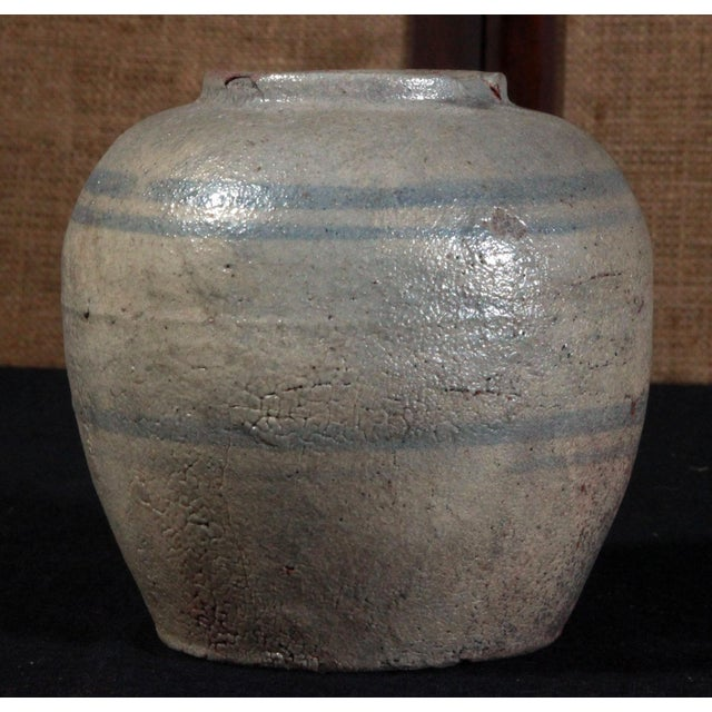 19th Century Chinese Provincial Blue & White Jar - Image 4 of 11