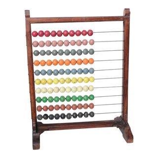 Antique Oversized School Abacus