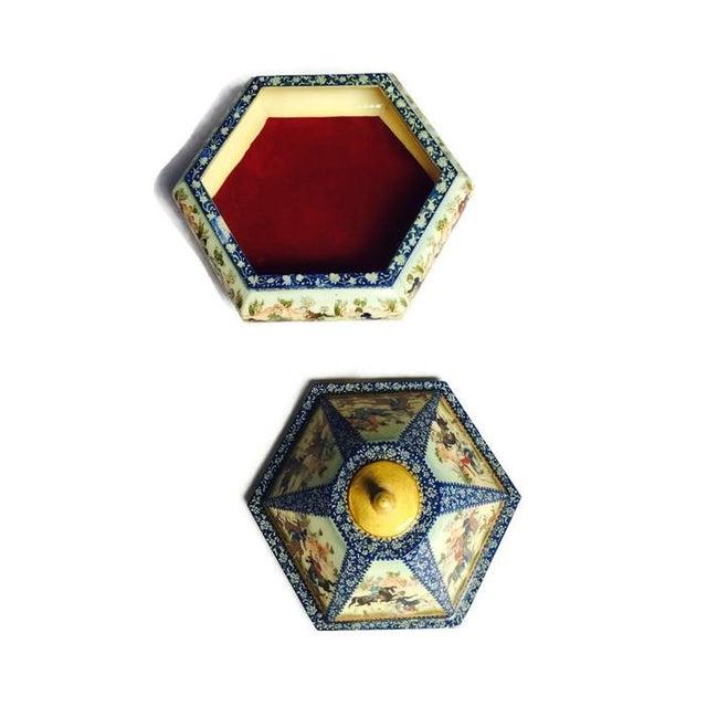 Vintage Persian Ornate Bone Trinket Box - Image 3 of 6