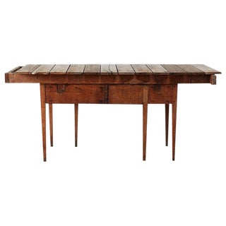 Repurposed Primitive Style Wooden Gardening Table For Sale