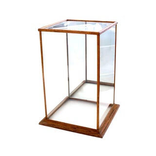 Vintage Mirrored Display Case For Sale