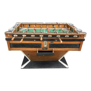 French Art Deco Foosball Table by Finale For Sale