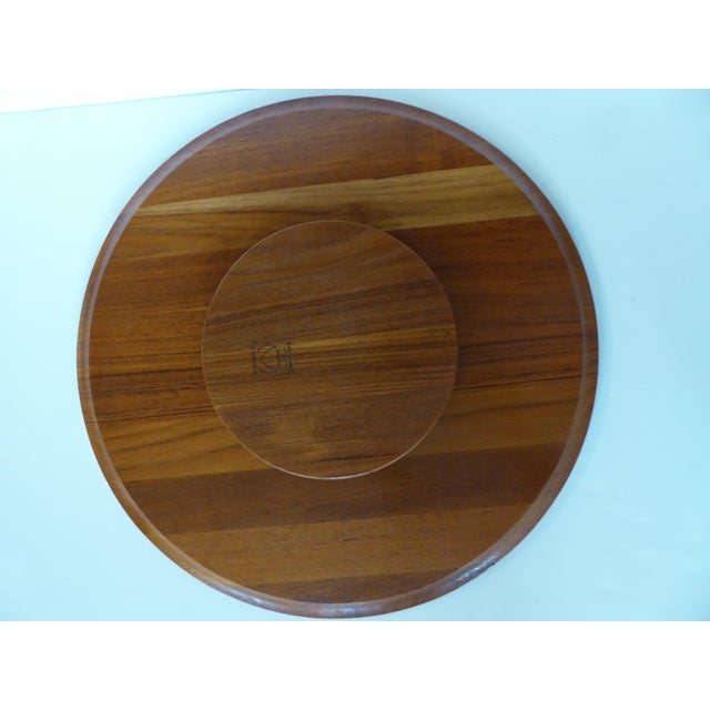 1960's Rare Digsmed Danish Server Lazy Susan - Set of 7 - Image 10 of 11