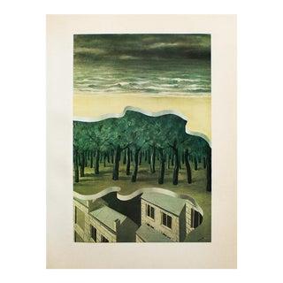 "1972 Rene Magritte, ""Popular Panorama"" Original Photogravure For Sale"