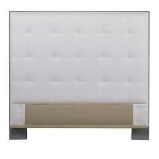 Century Furniture Marin Wood Trim Uph Headboard, Queen Preview