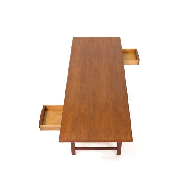 1960s 1960s Vintage Ew Bach for Toften Mobelfabrik Teak Coffee Table For Sale - Image 5 of 11
