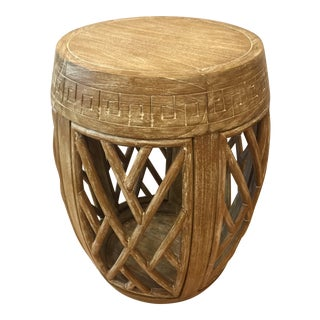Boho Chic Bungalow 5 Horizon Side Table For Sale