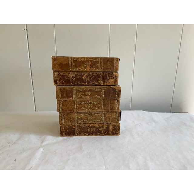 Late 19th Century Antique Italian Faux Book Boxes For Sale - Image 5 of 8