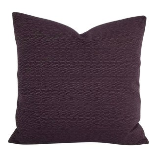 "Jim Thompson Naxos in the Color Eggplant Pillow Cover - 20"" X 20"" For Sale"