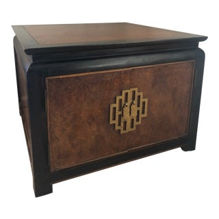 1970s Asian Century Furniture Storage Table For Sale