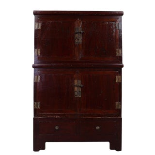 Chinese Antique Stackable Cabinet/Chest - 3 Pc. Set For Sale