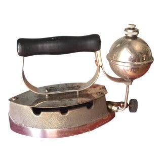 Industrial Design Diamond Iron** For Sale