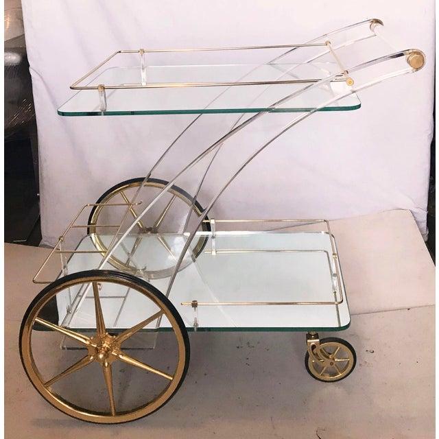 Maison Jansen Bar Cart - Image 5 of 5