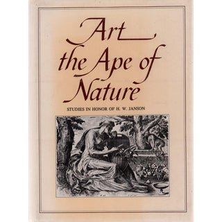 """1981 """"Art the Ape of Nature"""" Coffee Table Book For Sale"""
