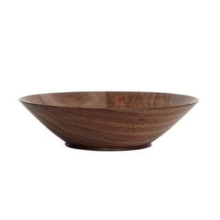 KLOTZWRK Solid Walnut Lathe Turned Bowl For Sale