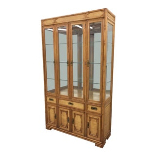 "Vintage Drexel ""Captiva"" China Cabinet"