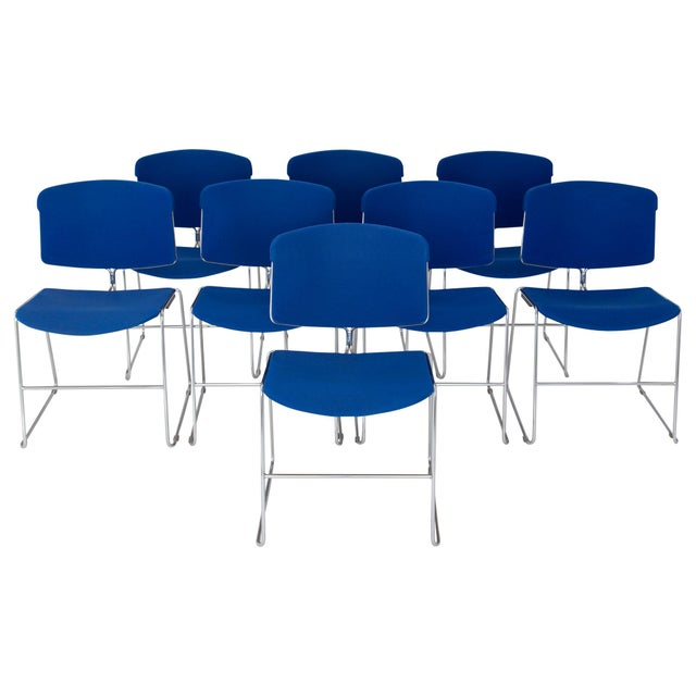 Steelcase Max Stacker Chairs - Set of 8 For Sale - Image 10 of 10