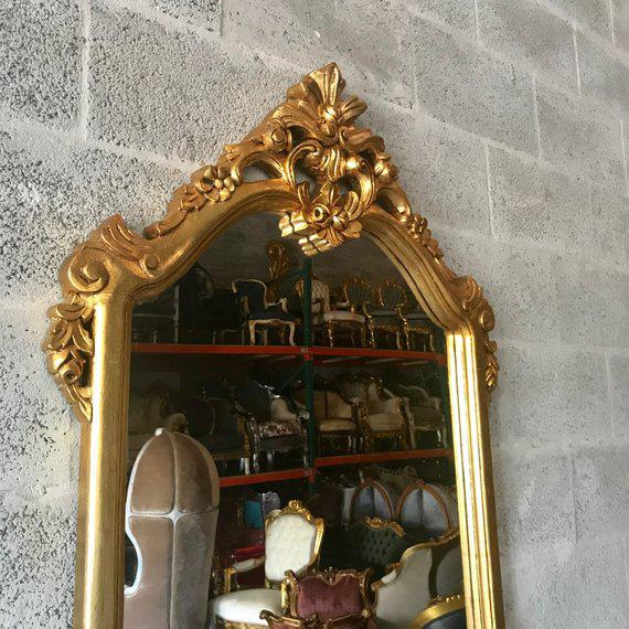 French Louis XVI Console With Mirror For Sale - Image 4 of 10
