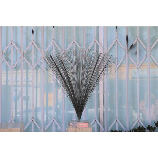 "Harry Bertoia Bertoia Style ""Spray"" Sculpture For Sale - Image 4 of 6"