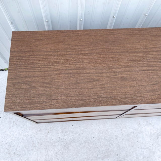 Mid-Century Modern Six Drawer Dresser For Sale - Image 4 of 13