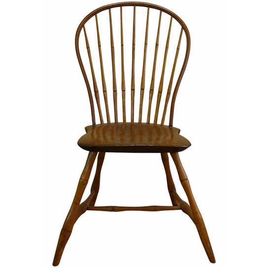 18th Century Ebenezer Tracy Windsor Chair For Sale