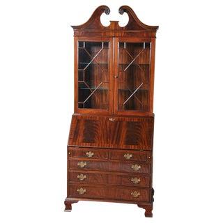 Traditional Mahogany Secretary Desk For Sale