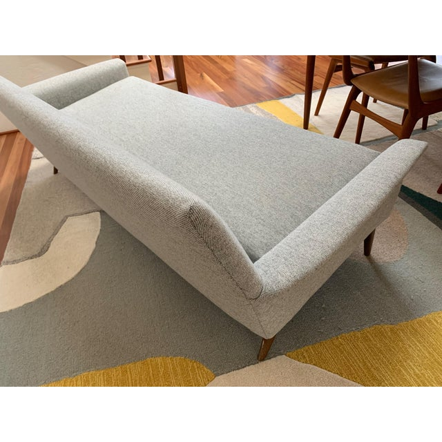 Vintage Mid Century Modern Elegant Sofa For Sale In Seattle - Image 6 of 13