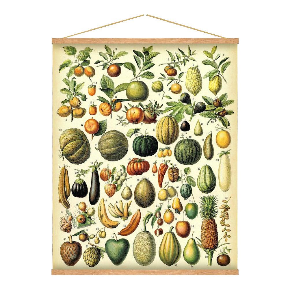 Antique \'Fruit\' Wall Hanging | Chairish