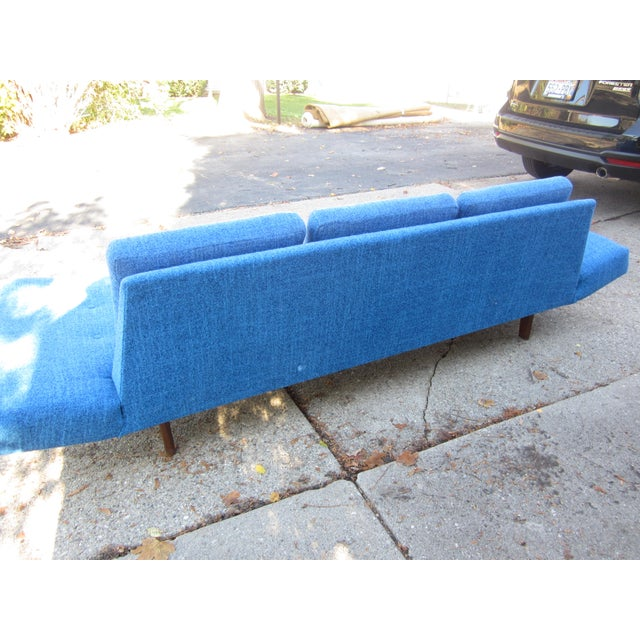 Gorgeous Mid-Century Modern Adrian Pearsall Gondola Couch For Sale - Image 5 of 7