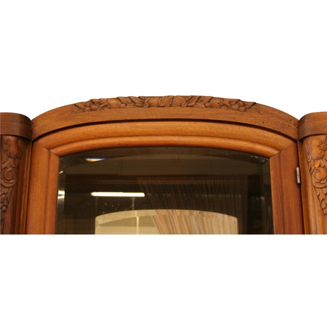 Wood 1920 French Art Deco Buffet For Sale - Image 7 of 8