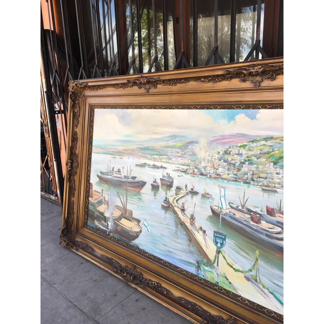 Vintage Victorian Picture Frame Painting For Sale In Los Angeles - Image 6 of 13
